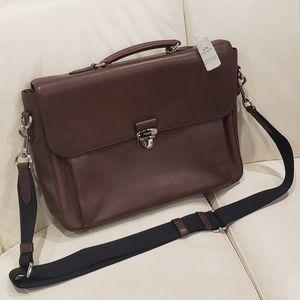 COACH Metro Briefcase laptop bag NWT F71899